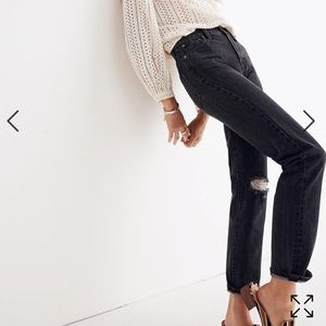Madewell Perfect Vintage Jean Black